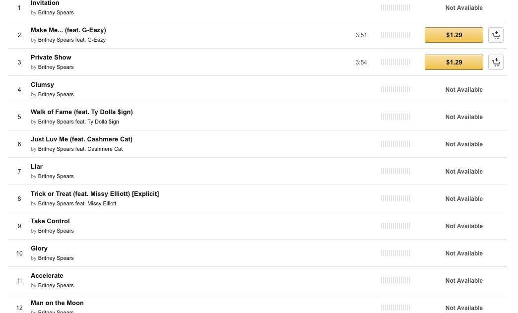 Glory Tracklist