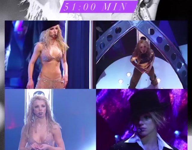 New leak: Satisfaction + Oops! I… Did It Again MTV VMAs 2000 Full Rehearsal