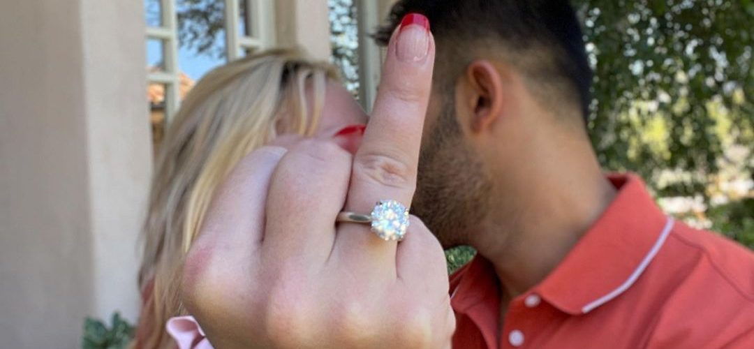 Britney and Sam are engaged!!